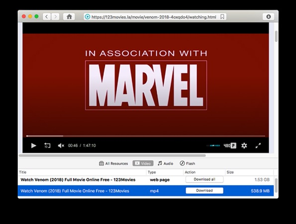 Ways to download videos from 123 movies