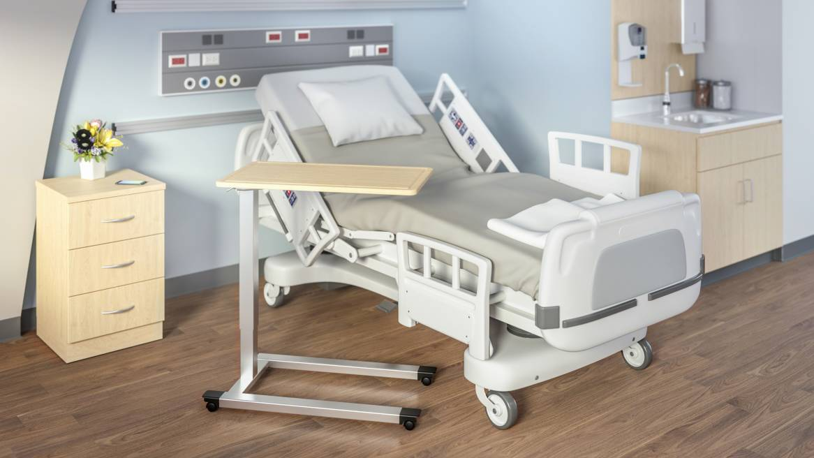 Do It Sitting Ability: How An Adjustable Hospital Bed Table Can Improve The Quality Of Life