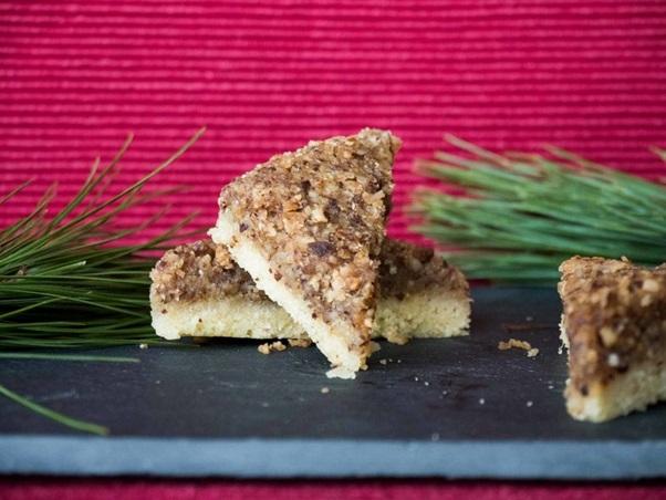 Nussecken , German Nut Corners Recipe