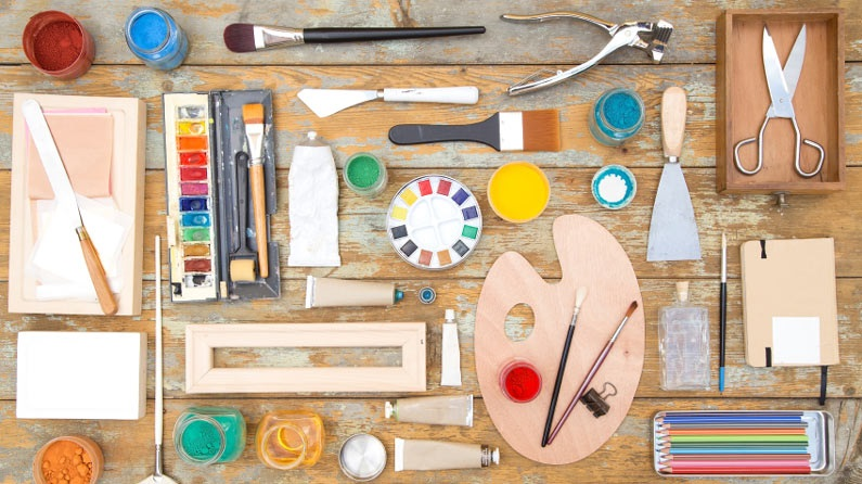 Begin Painting With These Essential Art Supplies