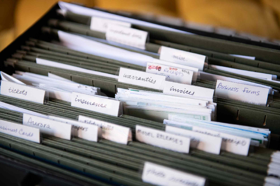 Find It Fast: How to Organize Important Documents at Home