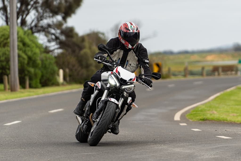 Ride the Streets Of Australia: The Triumph Triple Street 660 LAMS Version and Others in the Series
