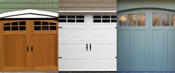 How do you select a new garage door?